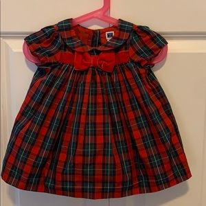 EUC Janie & Jack Holiday Dress 6-12 months